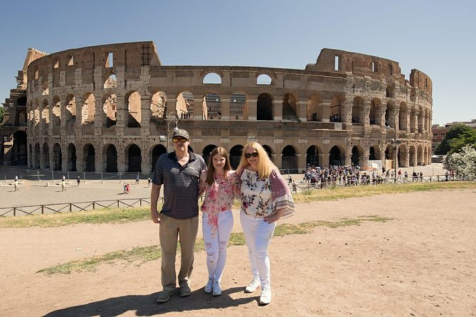 This impressive Shore Excursion touches the most significant highlights of Rome and Vatican City:<br>• Trevi Fountain<br>• Spanish Steps<br>• Venice Square and the Wedding cake<br>• Roman Forum<br>• Colosseum<br>• Arch of Constantine<br>• Circus Maximus<br>• Pantheon<br>• Campo de Fiori Square<br>• Vatican Museums and Sistine Chapel<br>• St. Peter's Basilica Square<br>Lunch and Skip-the-line tickets to Vatican Museums are included on Private Tour option.<br>Upgradable with licensed expert local tour guide in Private option.<br>Private or Shared Tour options are available tailored to your group's interests.<br><br>Worry-free Shore Excursion: <br>We will ensure your timely return to Civitavecchia Cruise Port for this activity. In the rare event your ship has departed, we will arrange for transportation to the next port-of-call. See terms and conditions for full details.