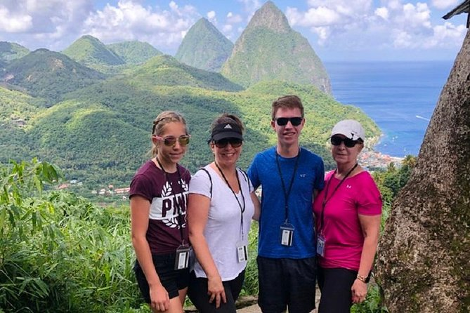 This tour allows you to visit the majestic town of Soufriere and see the Pitons. Several stops along the way allow for picture perfect moments. See the way of life of the locals. St Lucia's rich history keeps you alert throughout this drive.<br><br>Back to ship guarantee.