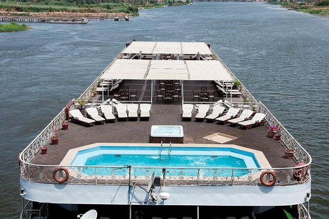 Amazing 4-Day 3-Night Nile Cruise from Aswan to Luxor With Balloon and Tours, Guiza, Egypt
