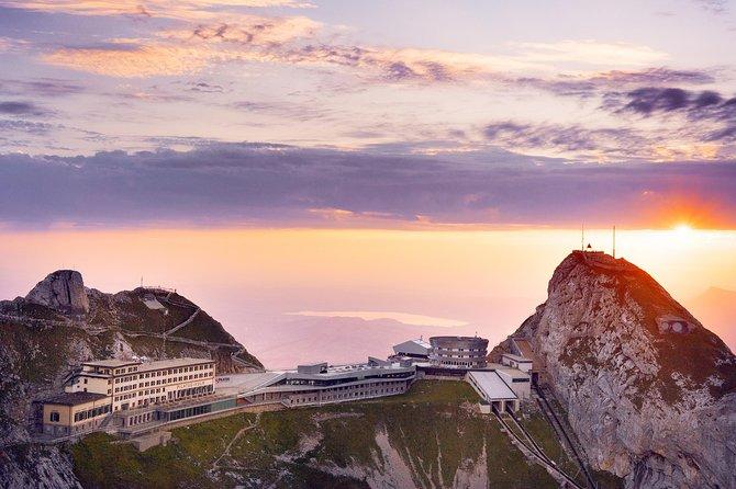 Viaje de ida y vuelta categoría oro con crucero por el lago hasta Monte Pilatus desde Lucerna, Lucerna, SUIZA