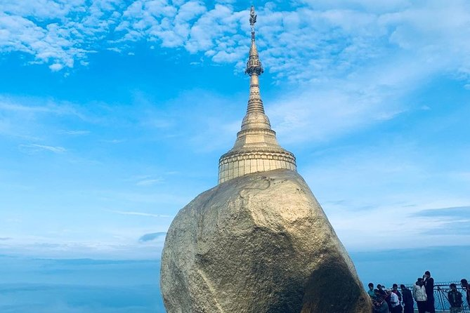 Kyaiktiyo Pagoda is built on the top of a mountain and one of Myanmar's most prominent pilgrimage sites.<br><br>According to legend, the rock and pagoda were placed here atop a strand of the Buddha's hair over two thousand years ago by a celestial king. While there's much debate around historical accuracy, the panoramic views from the Rock are stunning. <br>