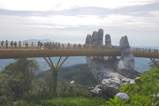 Golden Bridge-Dragon Bridge-Marble Moutain-Monkey Mountain fromHoi An or Da Nang, Da Nang, VIETNAM