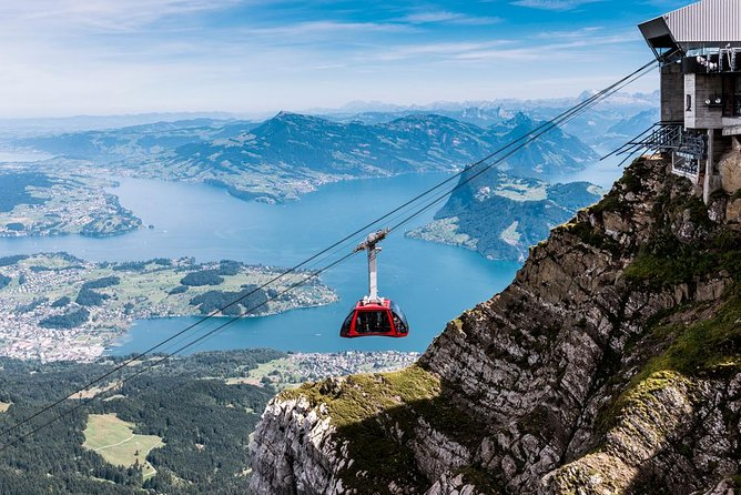 Silver Round Trip to Mt Pilatus from Lucerne Self-Guided Tour, Lucerna, Switzerland