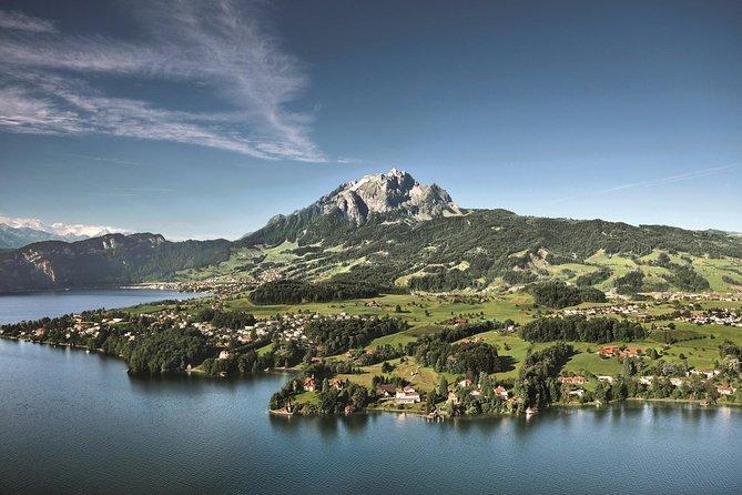 Experiencia en el Monte Pilatus con el tren de cremallera más empinado del mundo, Lucerna, SUIZA