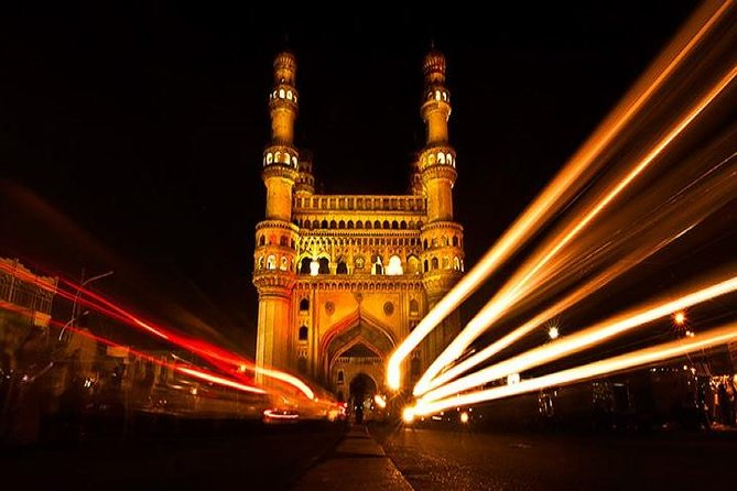 Visit the highlights of the majestic city of Hyderabad that was a part of a larger Hyderabad State ruled by sovereigns called Nizams. Behold the Charminar an imposing monument dominated by four minarets and visit Grand Mecca Masjid, the oldest mosque in the city. We will also take you to the Salar Jung Museum, a treasure trove with its variety of artifacts and well preserved exhibits and the Chowmahalla Palace with its massive Durbar hall. Experience a calm expanse of water in the city – the Hussain Sagar Lake