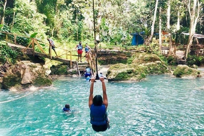 Plan a visit to the Island Gully Falls and Blue Hole in the scenic tropical hills of St. Ann. This lagoon-like pool fed by the cool river waters flowing down from higher elevations will be an experience to remember.