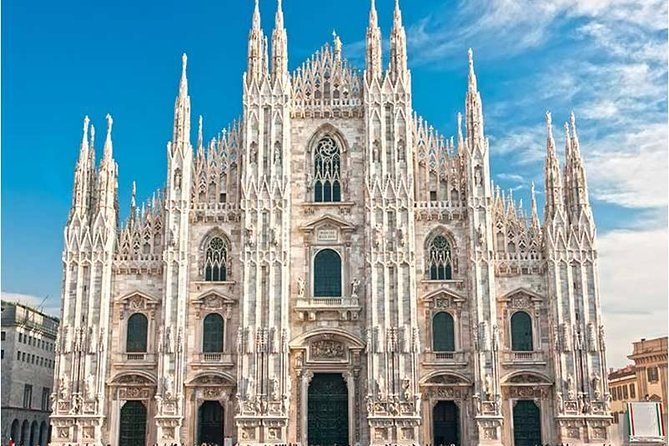Experience the best of the Duomo Cathedral on a Milan Super Saver that combines two popular guided tours at a discounted price. With an expert guide, enjoy skip-the-line entry to the iconic cathedral, then take a 1-hour tour of the interior before ascending to the rooftop. Ride an elevator and climb steps to reach the lofty rooftop, where — amid the upward-reaching spires of the cathedral — you'll soak up gorgeous views of the city below.