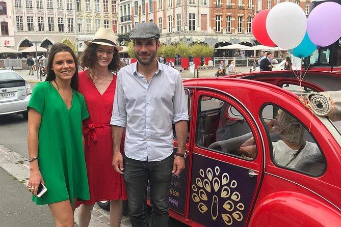 Recorrido exclusivo por Lille en un 2CV descapotable con receso con champán, Lille, FRANCIA