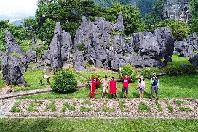 A fairly natural attraction in South Makassar, spending your day to explore Bantimurung Waterfall and Leang Leang. Both have the charm to make you feel as though you're really on holiday, also gives you a sense of adventure. Meet the guide in lobby hotel, port or airport at 9 AM then you will starting the tour to visit Bantimurung waterfall. A huge waterfall with an impressive high wall for water to gush down on. Sit under the waterfall and have a splash! Stop to visit Leang Leang to see karst landscape and mysterious handprints on cave walls. Then, enjoy local cuisine for lunch. Highlight of the trip, you'll also have city sightseeing by visit old port Paotere and Fort Rotterdam.