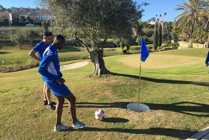 9 holes of Footgolf at El Campanario for persons older than 14 years., Marbella, ESPAÑA