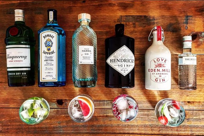 Uniquely Scottish experience from local guide. We'll provide the gin, the garnishes and mixers whilst you have fun with your family or friends.