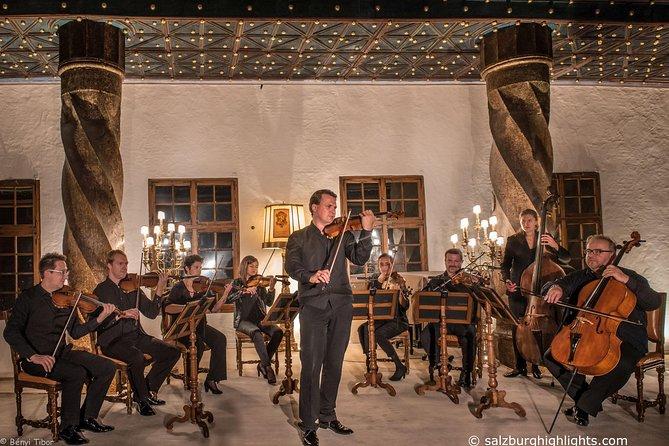 Best of Mozart Concert and GOLDEN VIP Dinner at Fortress Hohensalzburg, Salzburgo, AUSTRIA