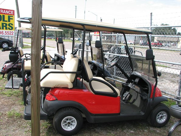 Our service is very dependable and affordable, we also provide you with a map of the island and explain the map of the island to you so you can have an idea where are you going and what to do, we take our customer service very seriously and booking with us as a company we make sure that you have your golf carts set and ready to go as always.