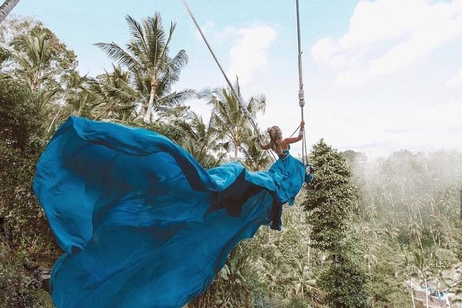 One of the hottest <br><br>Instagrammable spots in the world right now,you will experienceincredible views and an excitingadventure at Bali Swing! We would be glad if you could join us and feel the comfort, safety, fresh air, nature and the beautiful scenery of amazingBali.
