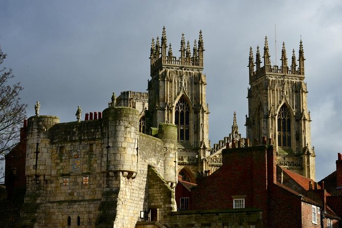 The story of York is the story of England in wood, stone and chocolate. Let our expert guides lead you on a ninety-minute journey through 2000 years, from the arrival of the Romans to the birth of the KitKat. This family-friendly walking tour includes all the key sights - including the Minster and Shambles - though we will also lead you deep into the medieval maze, or Snickelways. This is the secret side of York you would never be able to experience from an open-topped bus! <br><br>PLEASE NOTE THAT THE SAFETY OF OUR VISITORS IS OF PARAMOUNT IMPORTANCE: WE PLEDGE TO FOLLOW ALL CURRENT GUIDELINES ON SOCIAL DISTANCING AND TO ENSURE THIS THE TOURS ARE LIMITED TO A CAPACITY OF SIX PEOPLE PER GUIDE.