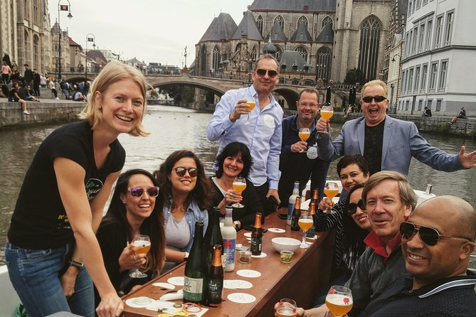 Tasting Belgian beer on water with our beer game - recommended for big groups, Gante, BELGICA
