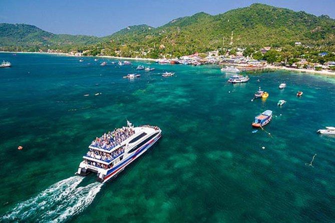 Ferry Transfers from CHUMPHON, Thailand, Ko Tao, TAILANDIA