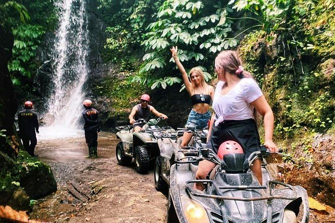 Jungle ATV Ride or Quad Bike Ride Tour Bali is one of the best adventure activities in Bali. Jungle ATV Ride offers a fascinating experience and high-quality service for your holiday. On the Jungle ATV Ride or Quad Bike Ride Tour, you will get a delightful experience because you will be served with picturesque panorama and the combination track to avoid the boring situation. The experience Jungle ATV Ride instructor will give a full safety instruction before riding the Jungle ATV . Approximately will spend 2 hours ride using 250 ccs and 350 ccs (the powerful off-road machine).<br>Jungle ATV Ride provides pick up from your hotel between 8.00 am , then drive to location around 1 hour 30 minutes.the experienced instructor will give you a full briefing before starting your Bali ATV Ride or Quad Bike Ride Tour, you will try your ATV/Quad in the special area. Afterward, start the Bali ATV Ride Tour with 2 hours duration and you will pass through a beautiful rice paddys, waterfall, Jungle Cave.