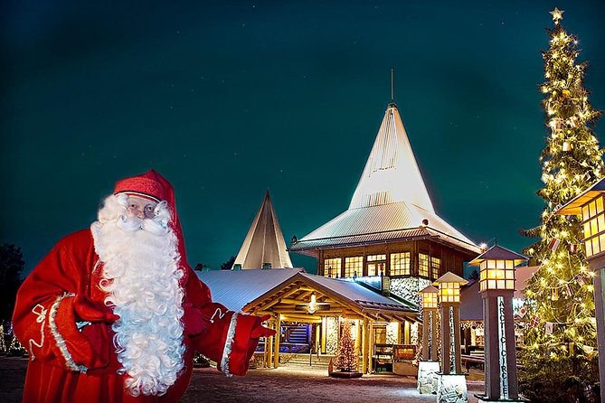 We will provide an exciting excursion for the whole family throughout the northern city of Rovaniemi and a visit to the village of Santa Claus in a comfortable private car.