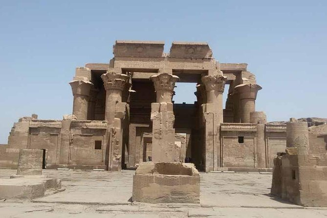 Enjoy private tour to visit Kom Ombo and Edfu temples. Start to visit Kom ombo temple, the unusual double temple dedicated to both the crocodile god Sobek and Horus the falcon. Then, proceed to visit the temple of Horus at Edfu, considered the best preserved of all Egypt's temples. Later on, you will be transferred back to your hotel in Aswan Or continue to your hotel in Luxor