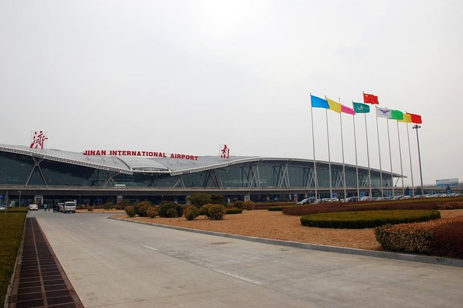 Private Airport Departure Transfer from Jinan Hotels, Jinan, CHINA