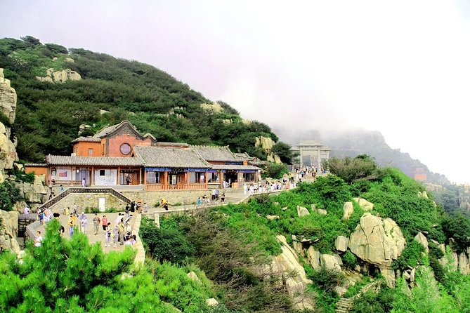 Mount Tai Private Tour from Jinan by Bullet Train with Cable Car Ride, Jinan, CHINA