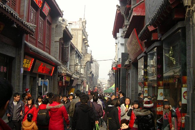 Private Night Tour of Jinan Furong Ancient Street and Daming Lake Light Show, Jinan, CHINA