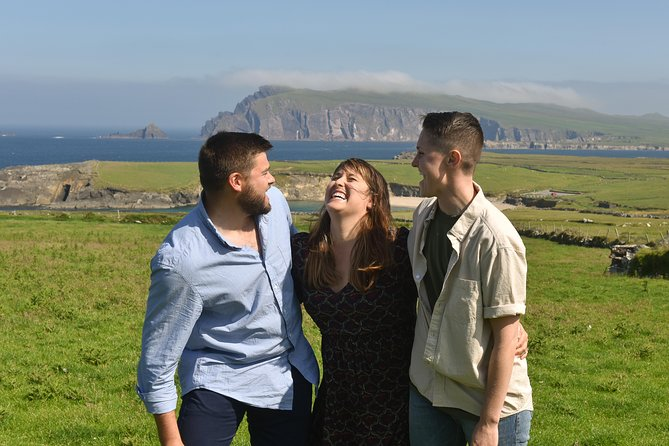 This is a fun way to treasure fond memories of your trip to Dingle with your loved ones. The stunning back drops will be the envy of your friends back home.