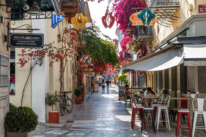 City Food Tour & Sailing in Nafplion, Corinto, GRECIA