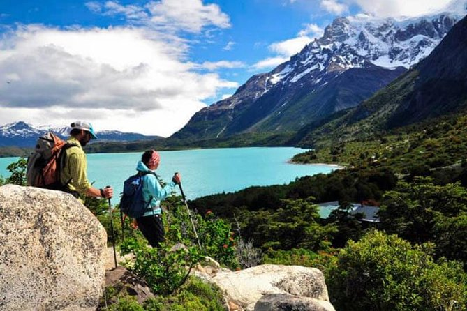 During this five day tour, you will be able to enjoy with other people one of the most impressive treks in South America and experience the majestic landscapes of the Chilean Patagonia. This option for the five day W Trek is a professional guided tour. They will take a group of about 8-10 people through the entire journey, explaining the wildlife, environment and all the interesting facts of this wonderful spot in the Patagonia. You will stay in different areas along the famous W route. The tour includes everything you need to enjoy this experience (transfers, accommodation, food, tickets..). You just have to decide if you want to stay in a campsite or a refuge (recommended). The most important areas you will visit during this tour are Base Torres, Los Cuernos, Valle Francés and the Glaciar Grey Viewpoint. (DEPARTURES: TUESDAYS AND SATURDAYS)