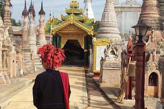 -Gazing at thousands of antique style small Stupas at Kakku Pagoda<br>-Exploring beautiful Pa O Villages