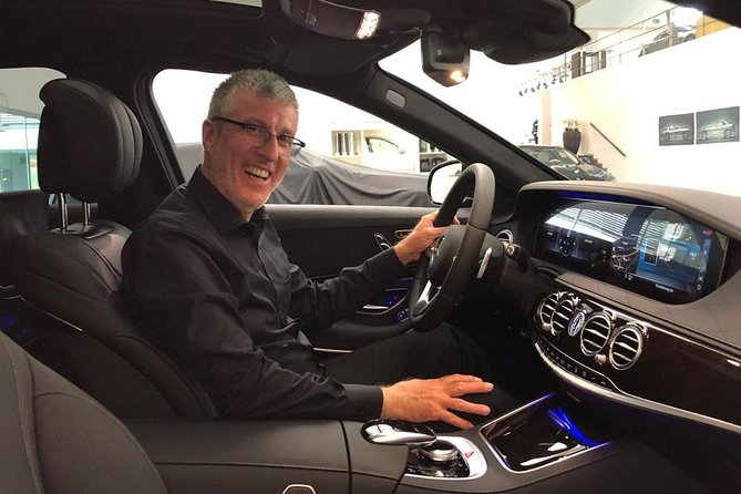Trip to Palatinate with a friend and his Mercedes S-Class - true first-class service, Estrasburgo, FRANCIA