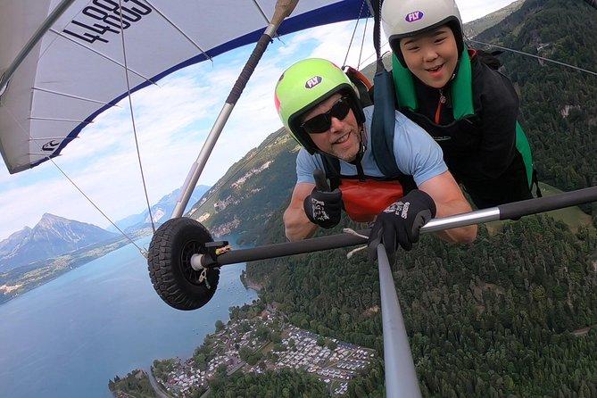 Tandem Hanggliding Flights, Interlaken, SUIZA