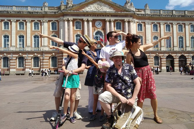 """This is an English Language Tour. <br>Visiting Toulouse? Want to know what there is to do, to see? These are the questions I'll answer for you on this Tour. Salted with history and peppered with anecdotes, taking this Tour will not only make you feel like you posses a figurative """"Menu"""" of what Toulouse has to offer, but that you have already seen the sights and enjoyed a tasty first course. <br>This is an afternoon Tour but the Tour itself is the same as the Free Tour I give on alternating mornings and carries the same name. Unlike the Free Tour this Tour has been created for people who don't like the large crowds that can sometimes accompany Free Tours. On this Tour places are limited to a maximum of 15."""