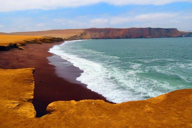 Islas Ballestas y la Reserva Nacional de Paracas desde PISCO, Paracas, PERU