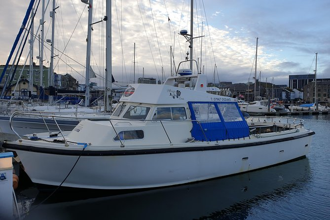 Patricia Rose Charters is a family run husband and wife team. We specialise in bespoke boat charters as well as standard club and Individuals bookings. Patricia Rose is a 38 foot very fast stable Aquastar boat .