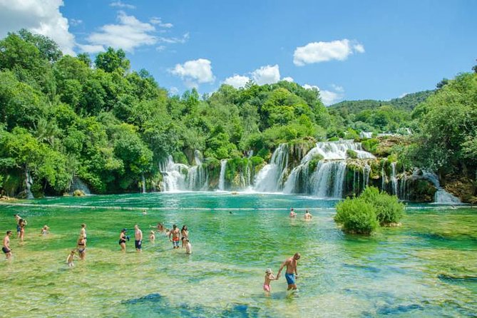 Perfectly balanced half-day tour for an active but not too exhausting day that offers something natural and something man-built. Krka waterfalls are very beautiful and are not far from Split, in summer months (June - September) you can swim almost on the very waterfalls. After the park we will visit UNESCO protected city Trogir and experience it's pure Mediterranean spirit. Contact us and let's have a nice day together :)