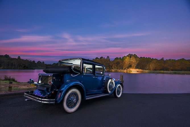 Tour in a rare 1929 Vintage Cadillac LaSalle with a driver / guide who has lived his entire life in the Blue Mountains. Will show areas not normally accessed by tourists. Hear some amazing local stories. <br>Feel what the Blue Mountains has to offer.