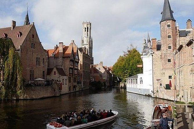 Explore Bruges and Ghent's canals and architecture on an all-day adventure<br>Work with a local guide to customize the tour to suit your interests<br>See medieval sites like the Basilica of Holy Blood<br>Make the most of your trip