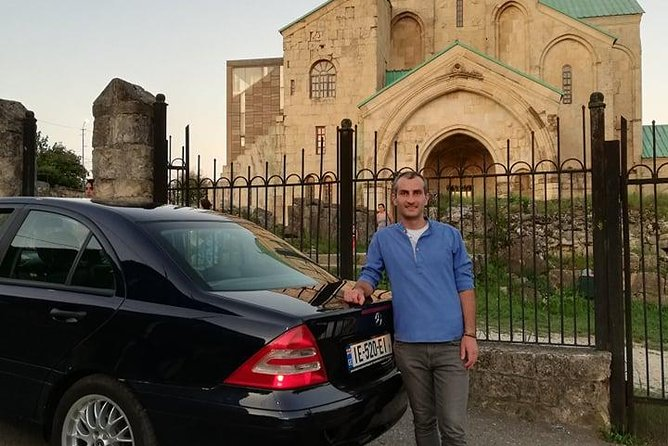 I will be your guide, driver, friend, host as you wish. I've C class mercedes, and knowledge of history of Georgia, English (A2) and Russian. I also have ongoing practical information. I'll help your tour to become very pleasant. everything including pricing vary according to your wish and needs, they are minimal, because I like travel and love my country and good people, not money.