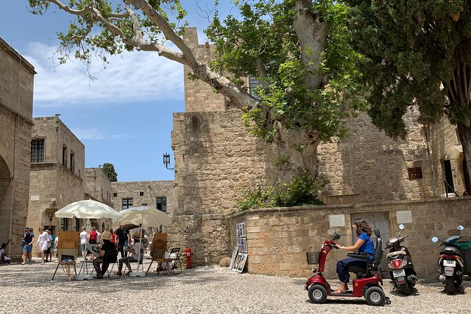 TOUR in OLD TOWN, Rhodes, Greece
