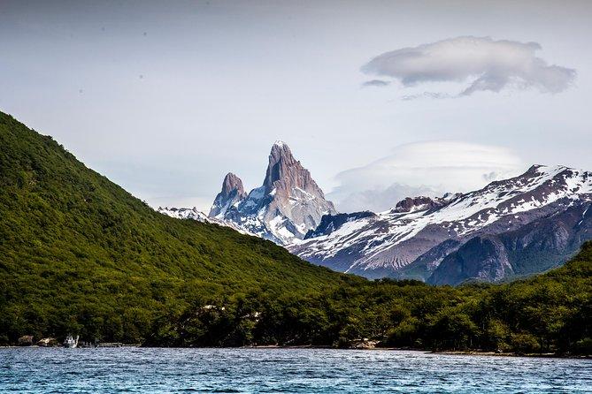 Trekking Vespignani Glacier from Punta Sur, El Chalten, ARGENTINA