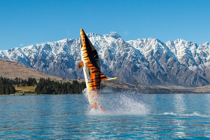 Up to 4 spaces available per time-slot. <br><br>It's time to scream in the shark machine. Operating from our berth in central Queenstown we will take you on an adrenaline-packed ride out on stunning Lake Wakatipu. Like a stunt plane on the water - sit back in the cockpit and get ready to feel the g-forces as our expert pilot gives you an experience you'll never forget. Looking through the F-16 fighter grade glass of the semi-submersible shark you'll see the sky disappear as your pilot descends into a long dive under the water then launches the entire length of the shark up into the air. You may experience side-rolls, tight turns and reach top speeds of 80 kph on water and 40 kph while diving underwater. <br><br>Each shark takes one passenger so trips are one-on-one with our pilot. A ride in the shark is sure to get your heart pumping. <br><br>The ultimate blend of shark and machine! Hydro Attack is the world's first commercial operator of the amazing Seabreacher X watercraft.