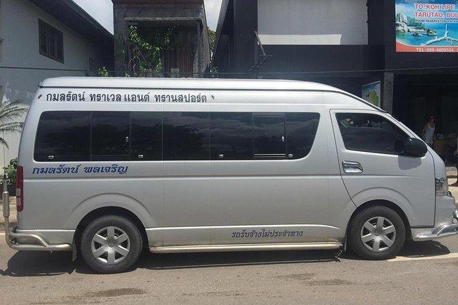 Koh Lipe To Trang Airport By Smart En Plus, Ko Lipe, Thailand