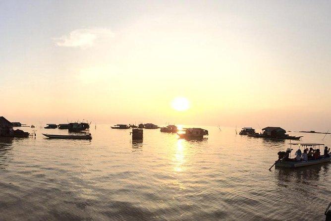 Sunset Floating Village (Komphong Pluk ) PRIVATE TOUR, Angkor Wat, CAMBOYA