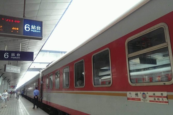 Lanzhou Railway Station Private Departure Transfer from City Hotels, Lanzhou, CHINA