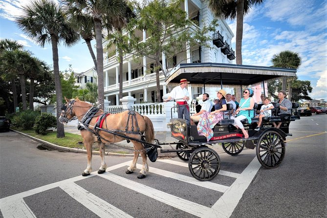 Recorrido histórico de Old South Carriage en Charleston, Charleston, SC, ESTADOS UNIDOS