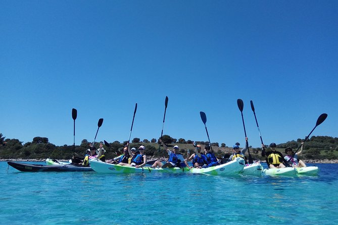 Learn about kayaking, see by your own how easy it is to use it and enjoy a wonderful tour on the wonderful waters of Vourvourou.<br>Visit and explore the most beautiful beaches of Halkidiki, swim and snorkel in them.<br>Let nature appear before your eyes and keep a beautiful souvenir with the pictures that we will take you out and send you.