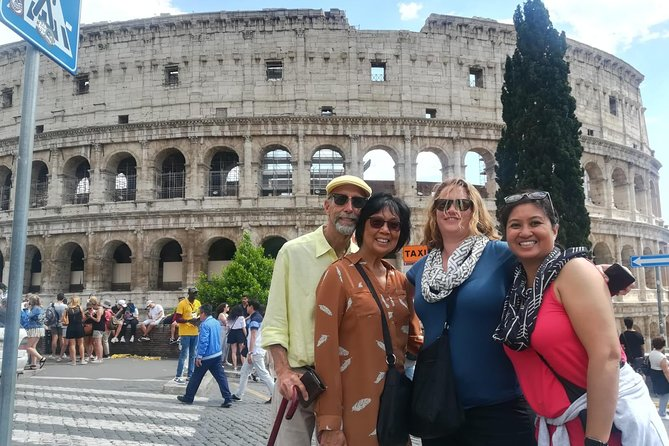 This impressive Shore Excursion touches the most significant highlights of Rome and Vatican City:<br>• Trevi Fountain<br>• Spanish Steps<br>• Venice Square and the Wedding cake<br>• Roman Forum<br>• Colosseum<br>• Arch of Constantine<br>• Circus Maximus<br>• Pantheon<br>• Campo de Fiori Square<br>• Vatican Museums and Sistine Chapel<br>• St. Peter's Basilica Square<br>Lunch and Skip-the-line tickets to Vatican Museums are included in Private Tour option.<br>Upgradable expert tour guide in Private option. <br>Private or Shared Tour available options.<br><br>Worry-free Shore Excursion: <br>We will ensure your timely return to Civitavecchia Cruise Port for this activity. In the rare event your ship has departed, we will arrange for transportation to the next port-of-call. See terms and conditions for full details.