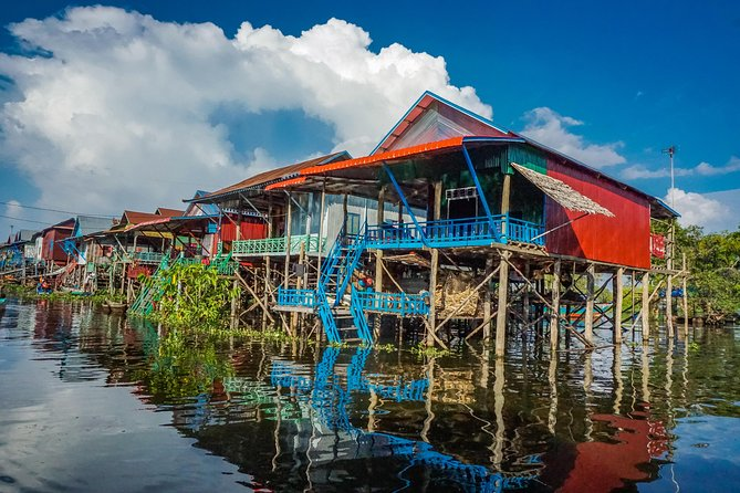 Explore The Kampong Pluk Floating Village, Angkor Wat, CAMBOYA